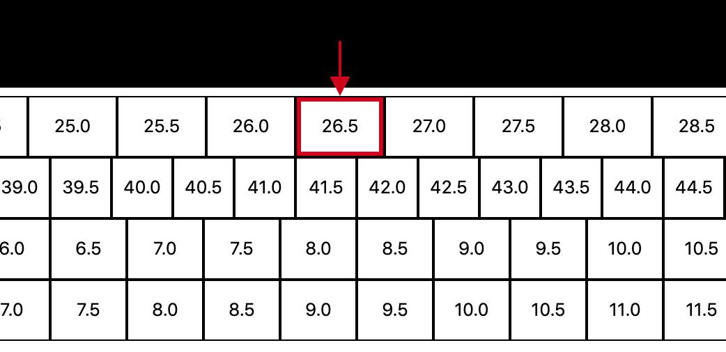 海外の靴サイズ表記(EU・UK・US)で自分に合ったサイズの靴を