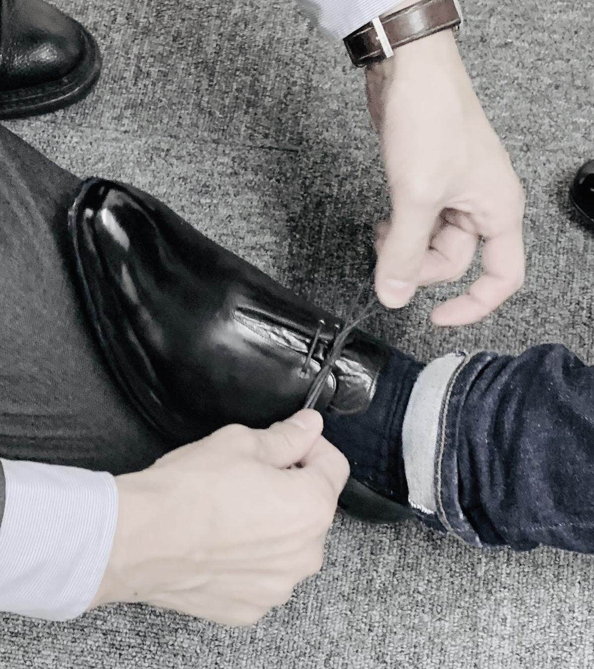 靴擦れ対処 小指